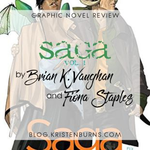 Graphic Novel Review: Saga Vol. 1 by Brian K. Vaughan & Fiona Staples