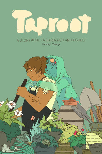 Graphic Novel Review: Taproot by Keezy Young | reading, books, graphic novel reviews, fantasy, lgbtqia, ghosts