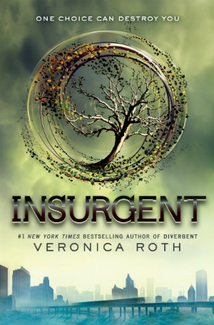 2.5 Star Book Review: Insurgent (Divergent Trilogy Book 2) by Veronica Roth | books, book reviews, sci-fi, dystopian, YA