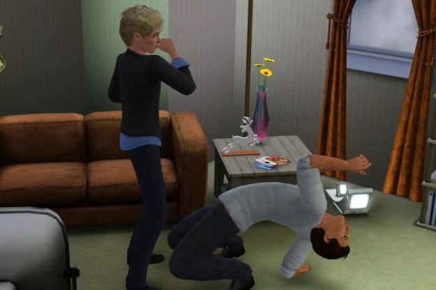 Matthew and Elliott Dancing at Home