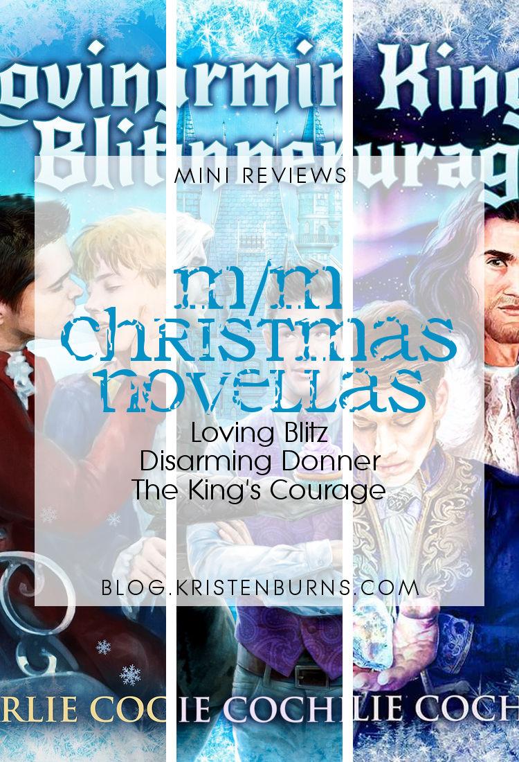 Mini Reviews: M/M Christmas Novellas | reading, books, book reviews, fantasy, christmas, lgbt