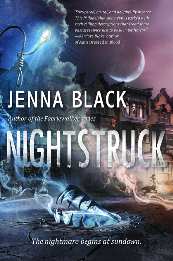 Book Review: Nightstruck by Jenna Black | books, reading, book covers, book reviews, fantasy, urban fantasy, paranormal romance, horror, YA