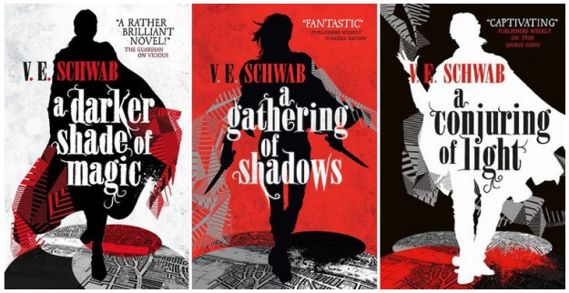 Series Covers - A Darker Shade of Magic