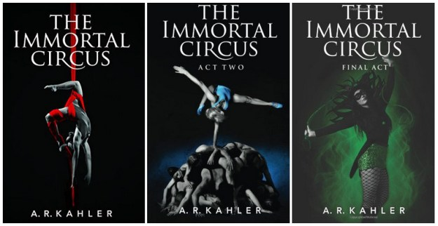 Series Covers - Cirque des Immortels