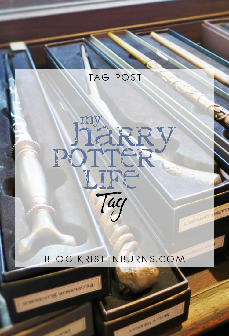 Tag Post: My Harry Potter Life Tag | reading, books, book tags