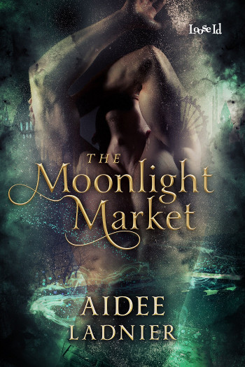 Book Review: The Moonlight Market by Aidee Ladnier | reading, books, book reviews, fantasy, urban fantasy, paranormal romance, lgbt, m/m, new adult, circus