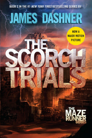 4 Star Book Review: The Scorch Trials (The Maze Runner Book 2) by James Dashner | books, book reviews, sci-fi, dystopian, YA