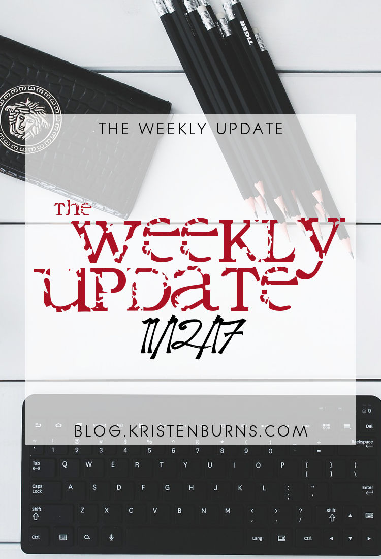 The Weekly Update: 11-12-17