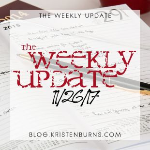 The Weekly Update: 11/26/17