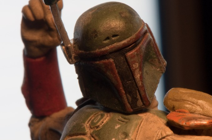Boba Fett Bust-Up