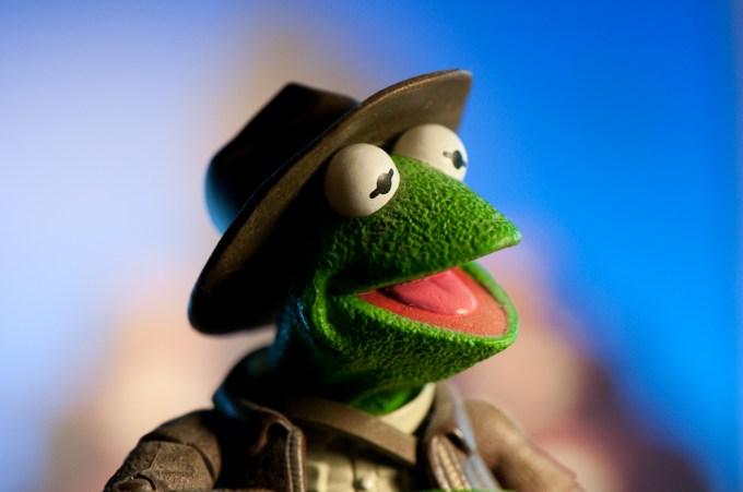 Indiana Kermit Figure