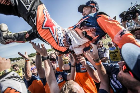 Sam Sunderland (GBR) & KTM Team Dakar 2017