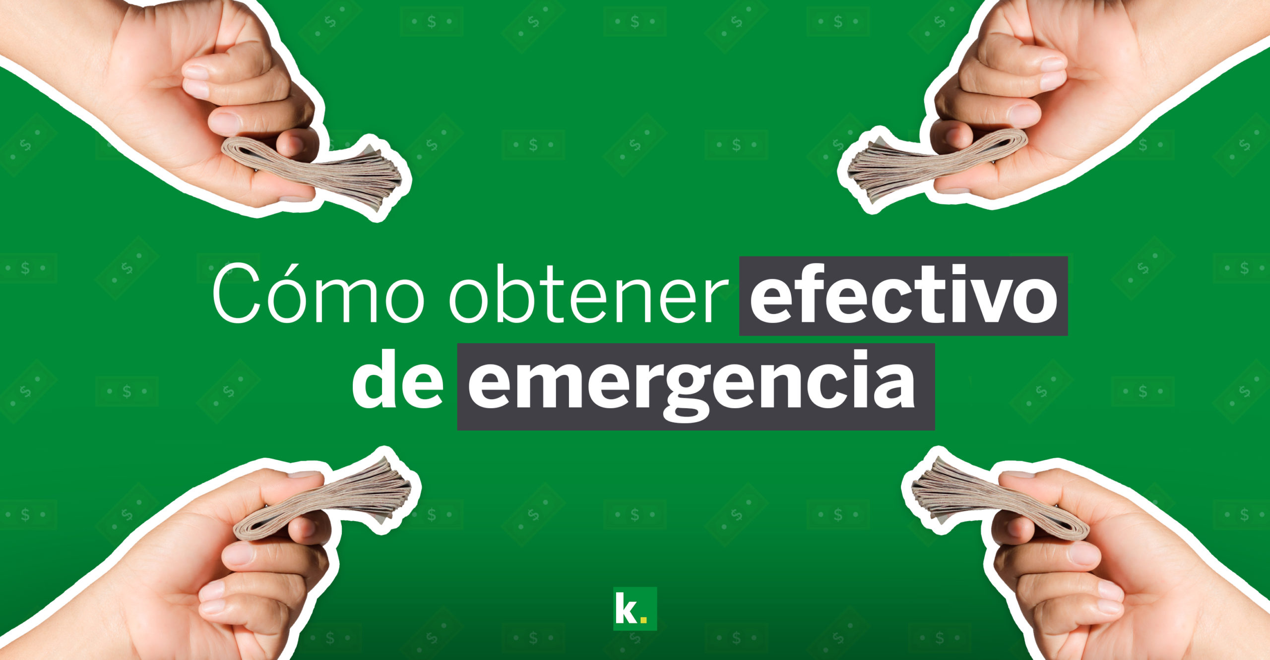 Cómo obtener efectivo de emergencia