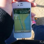 열심히 구글 지도로 길 찾는 중.