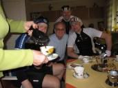 Eingeladen zum Kaffee bei Täve Schur in der Stube