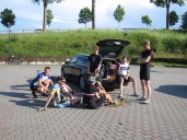 Letzte Pause 45 km to ride