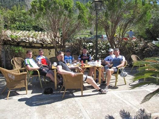 CaféPause in der Sonne im Orient