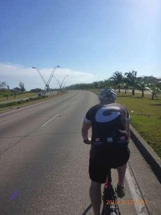Ausfallstrasse raus aus Havanna