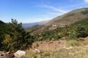Serpentinen hoch zum El Cantó