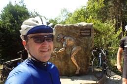 Eddy Merckx Gedenktafel in Somagne