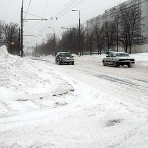 A drifted road (Занесенная дорога)
