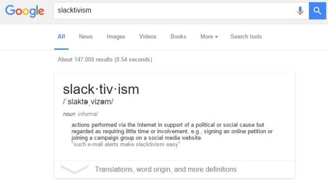 googleslacktivism
