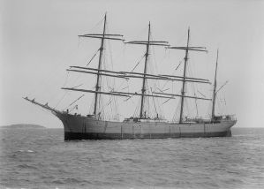 the four masted barque lawhill