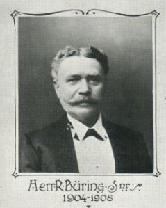 Picture of Heinrich Franz Rudolph Buring