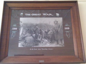 The Great War - In the front line trenches