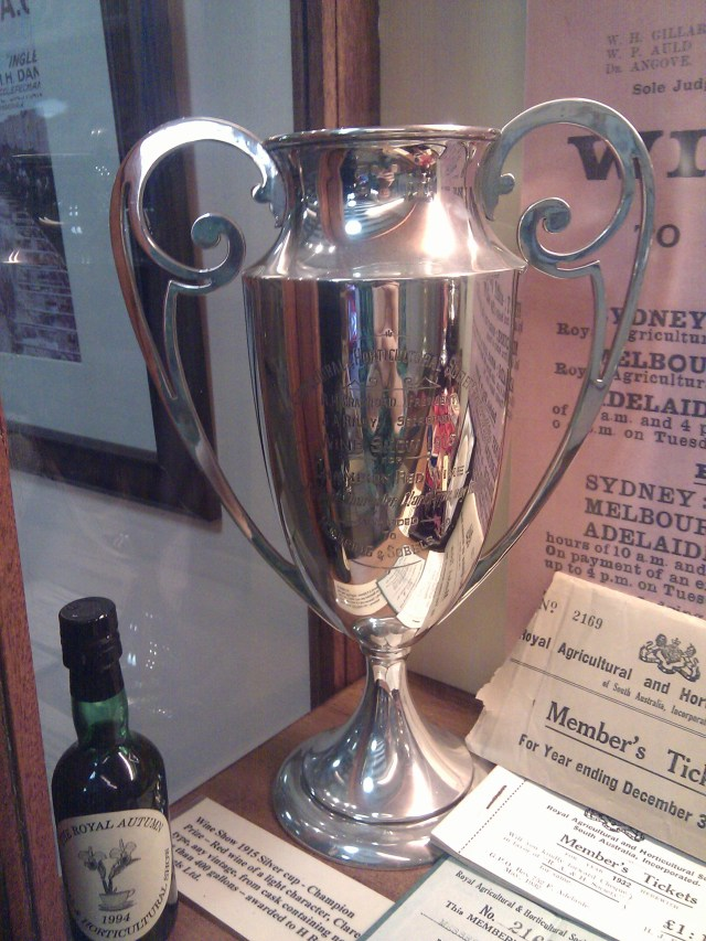 Wine Show 1915 Silver Cup