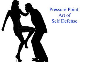 Pressure Point Art of Self Defense