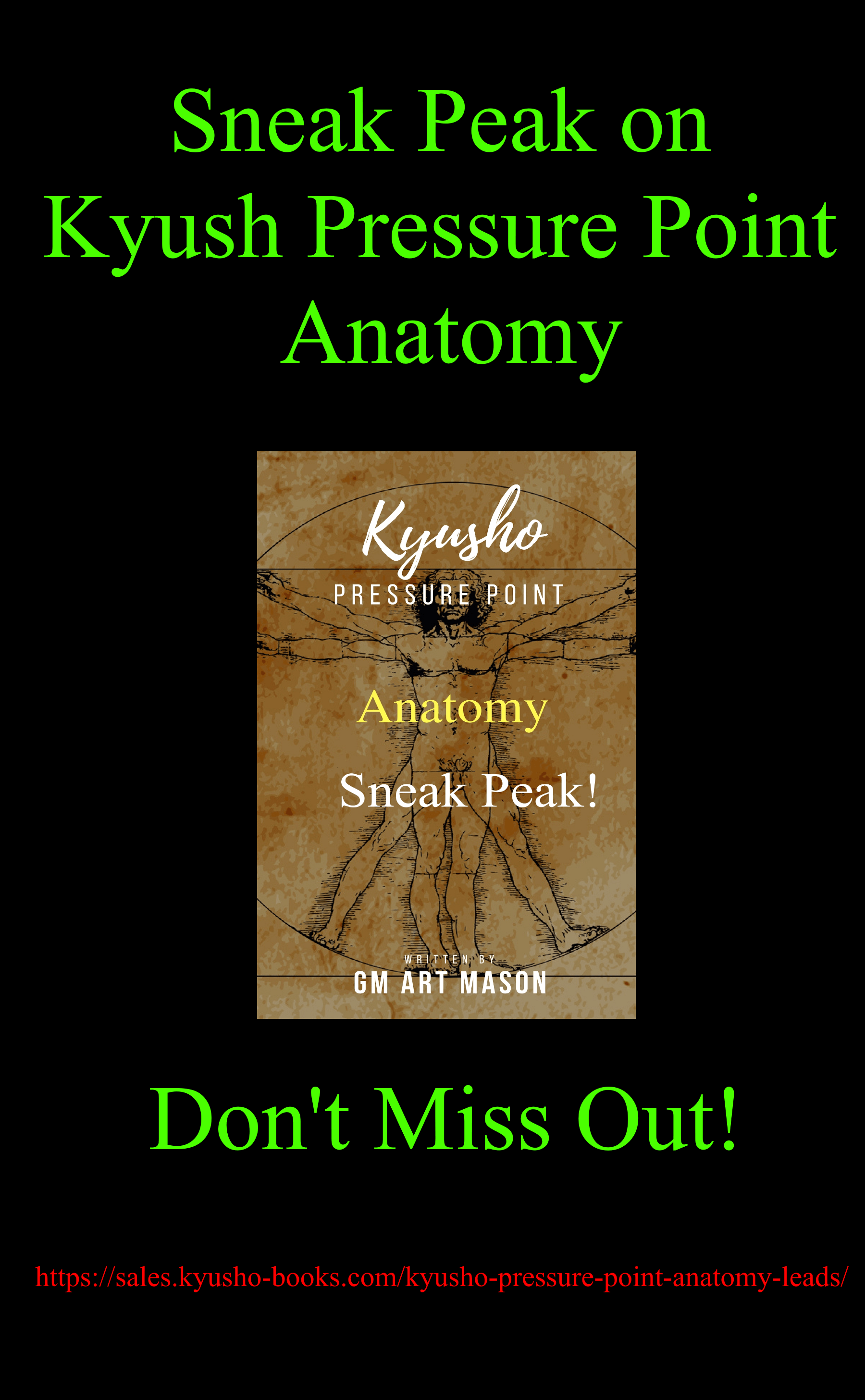 Get a Sneak Peak Kyusho Pressure Point Anatomy