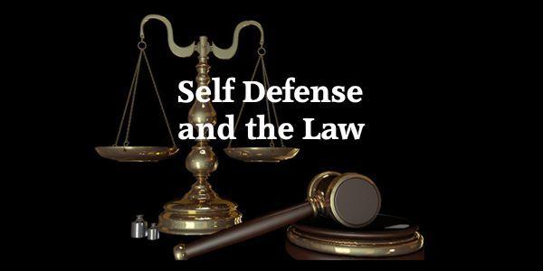 Self Defense Basics - Know the Law!