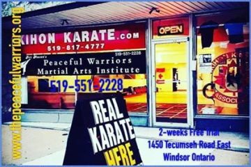 * Canadian Martial Arts Training Camp Location