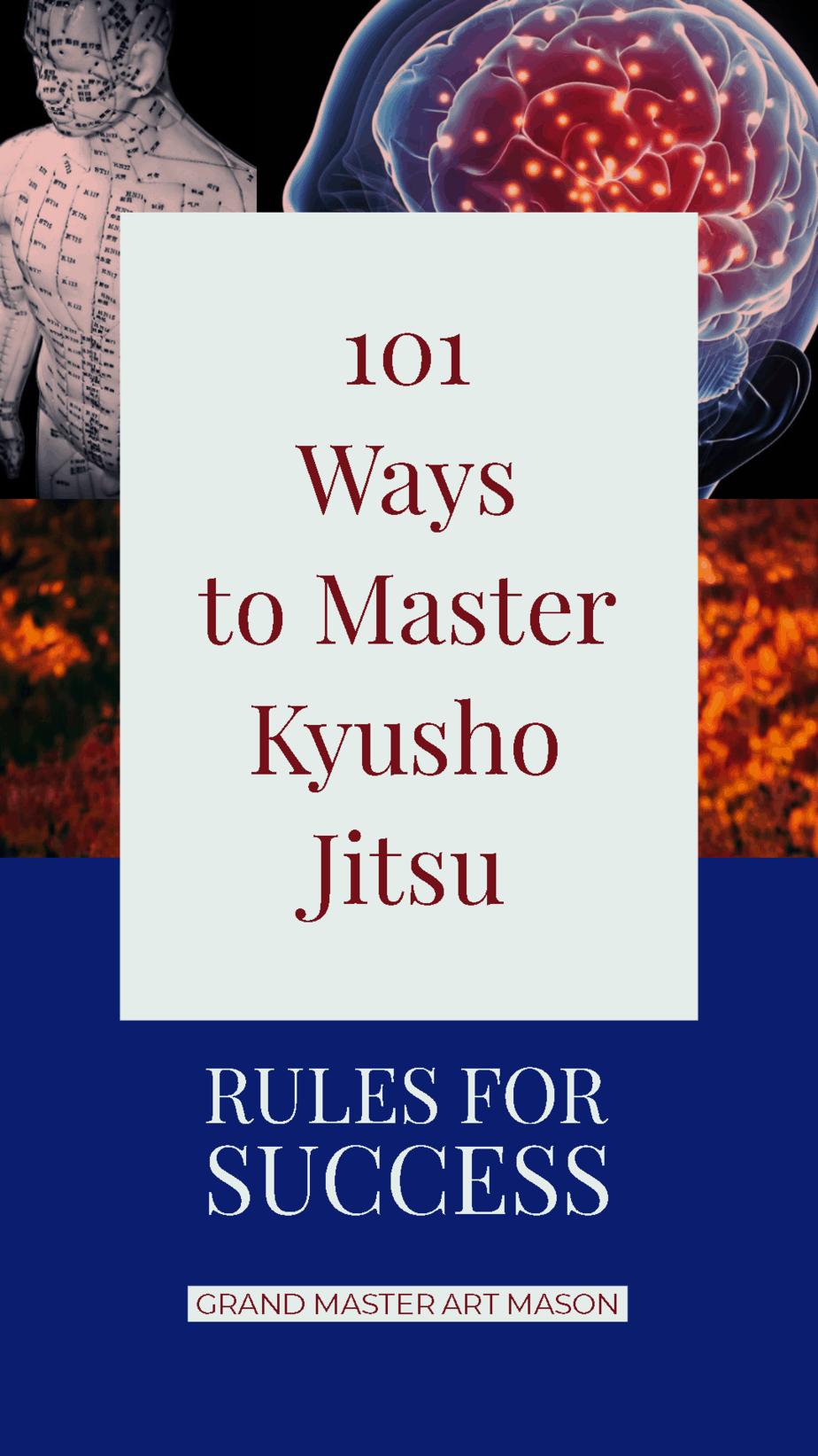 * 101 Way to Master Kyusho Jitsu