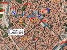 Plan d'accès à la librairie l'Opuscule de Montpellier