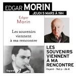 Rencontre avec Edgar Morin