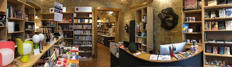 Vue d'ensemble de la librairie l'Opuscule