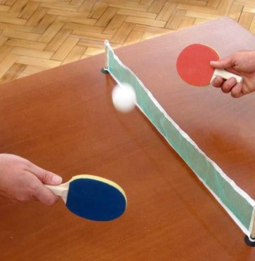 mini ping pong table