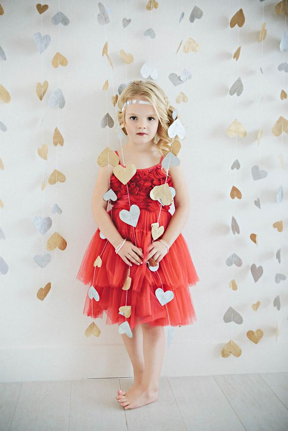 Photo feature in 4 ADORABLE VALENTINE'S DAY OUTFIT STYLES FOR GIRLS