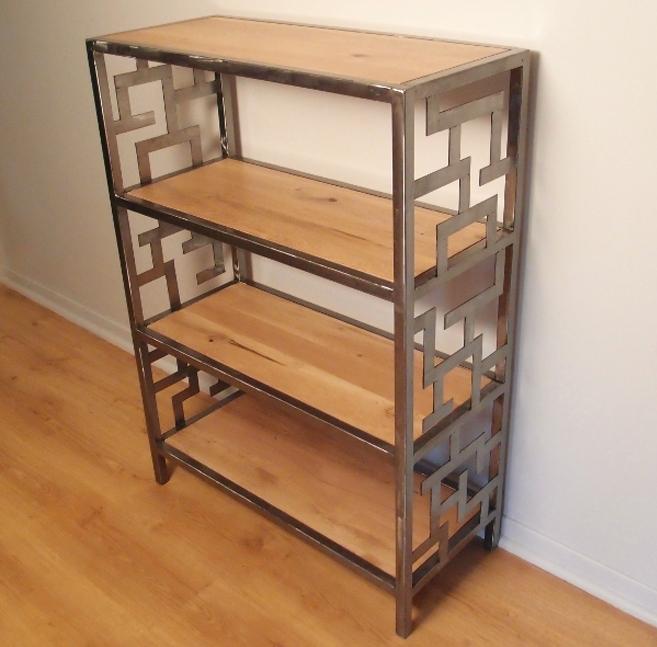 mobilier bois metal sur mesure le