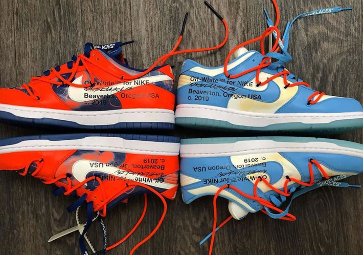 Off-White x Nike SB Dunk Low