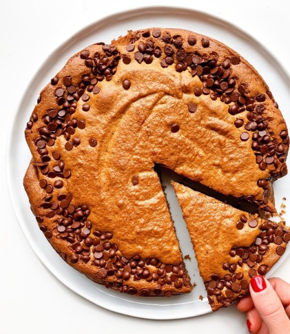 Giant Coffee Cookie Cake