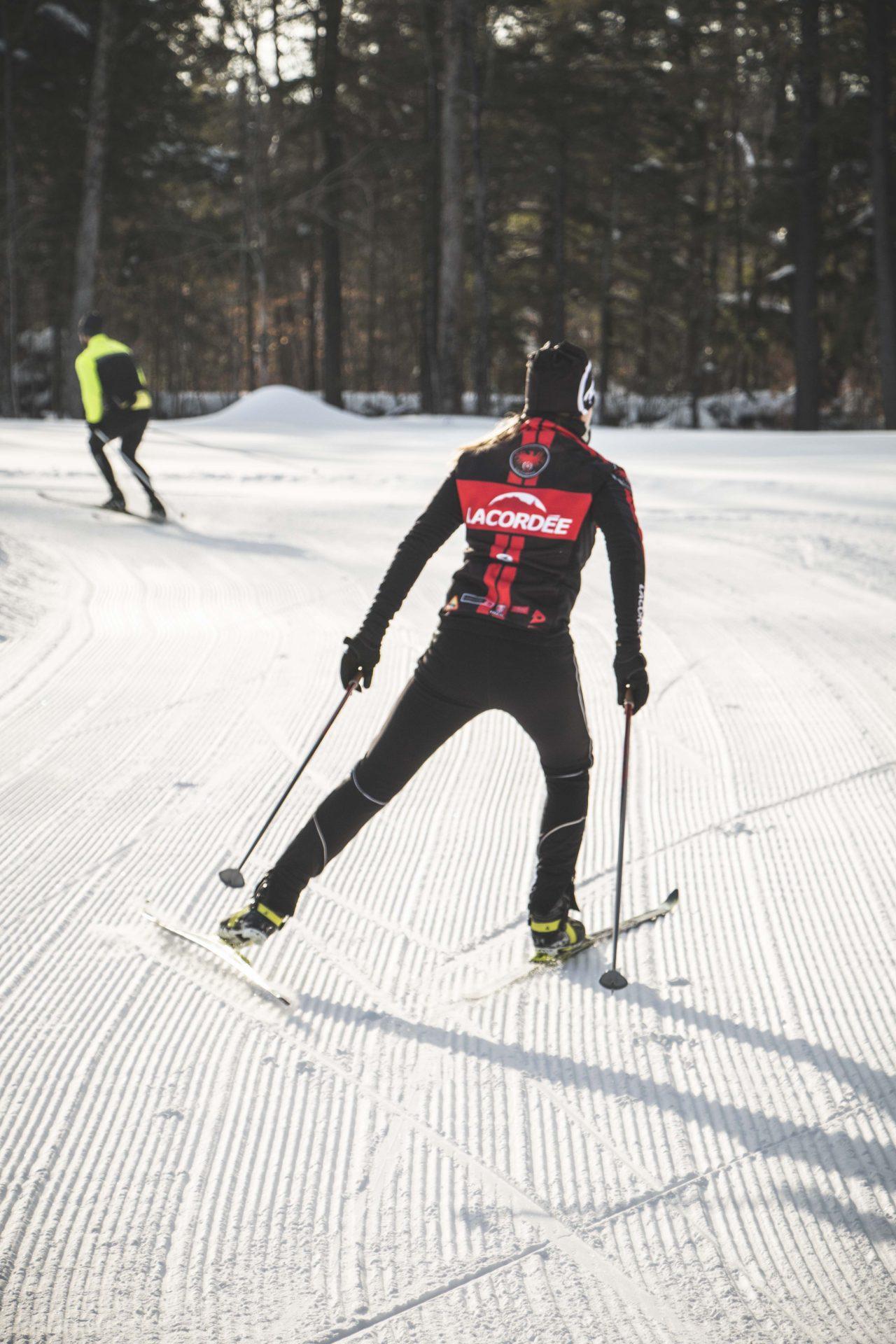 Technique Ski De Fond Skating : technique, skating, Conseils, Skier, Blogue, Cordée:, Plein, Vélo