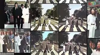 La sesión de fotos tuvo lugar el 8 de agosto de 1969. El responsable fue el fotógrafo Ian McMillan, recomendado por John, que le indicó exactamente cuál debía ser el resultado final. Se tomaron 6 fotografías distintas entre las que luego habría que elegir.