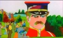 El sargento Pimienta con los ojos verdes