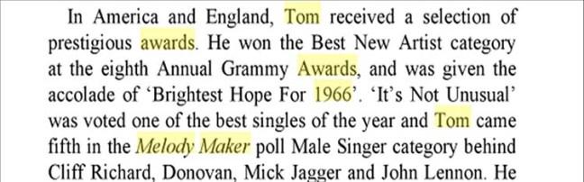 biografía de Tom