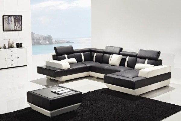 Modern Leather Sectional Furniture