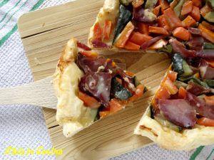 tarte tatin di verdure, ricette sane, tempo libero