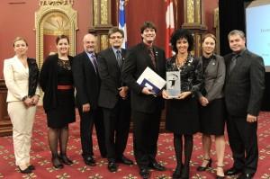Institut universitaire de gériatrie de Montréal - Remise de prix 2011